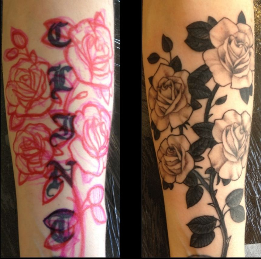 21++ Astonishing Brown tattoo ink cover up ideas