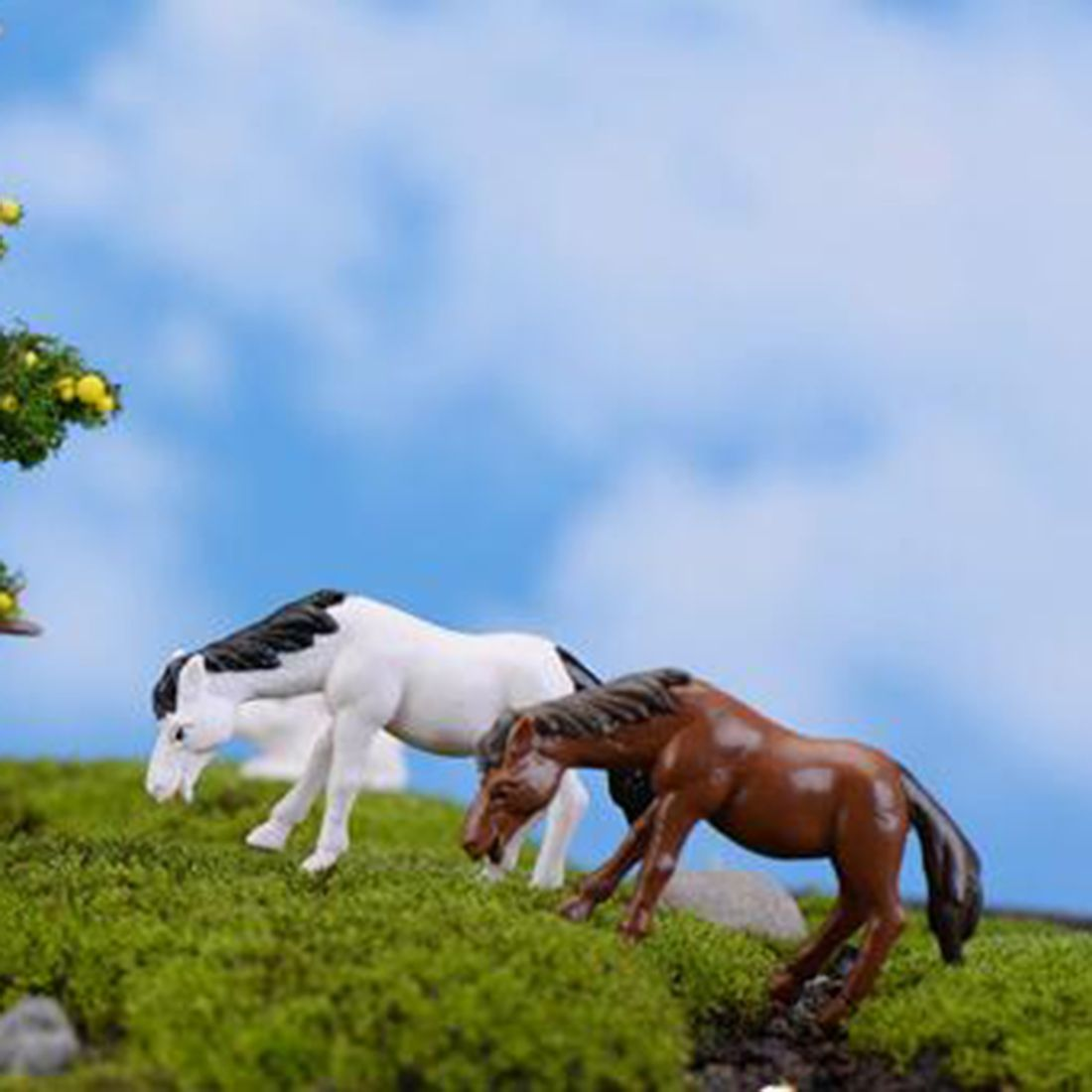 Perfect Cheap Ornaments Garden, Buy Quality Garden Ornaments Directly From China  Decorative Garden Ornaments Suppliers: Signs Portal Mini Horse Ornament  Garden ...