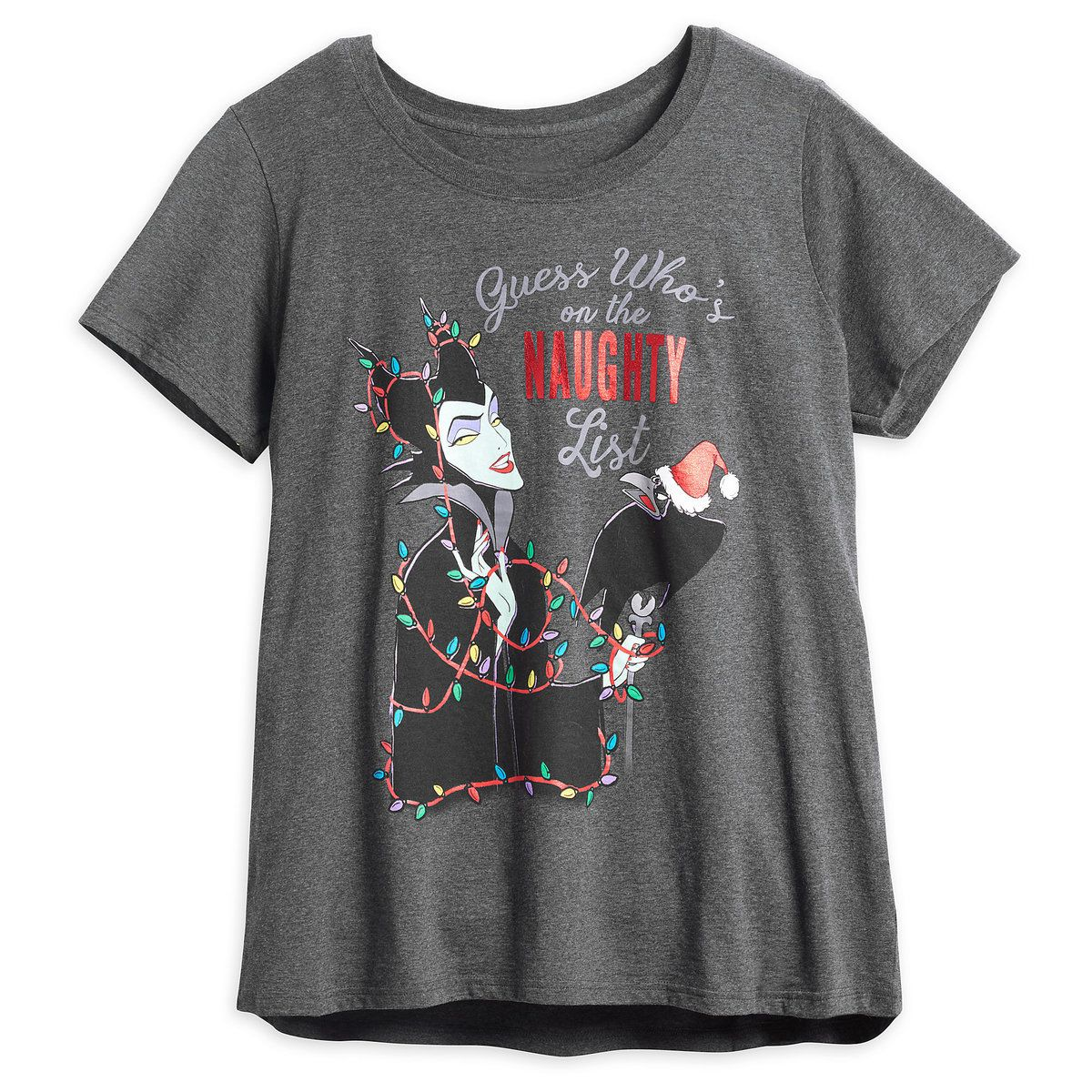 29d9806b749 Maleficent Holiday T-Shirt for Women - Plus Size