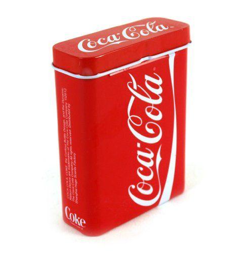 Coca Cola Stash Tin Coca Cola http://www.amazon.ca/dp/B009ZAAPU6/ref=cm_sw_r_pi_dp_1Do2wb08PJ951