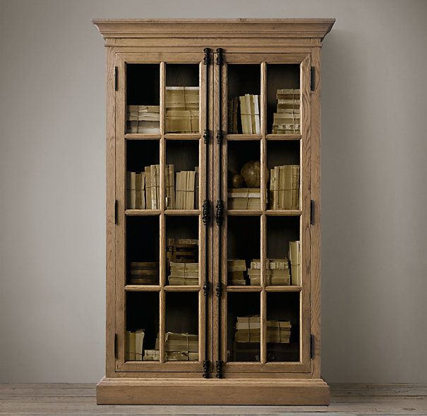 French Casement Cabinets | Wood Shelving & Cabinets | Restoration Hardware - French Casement Cabinets Wood Shelving & Cabinets Restoration