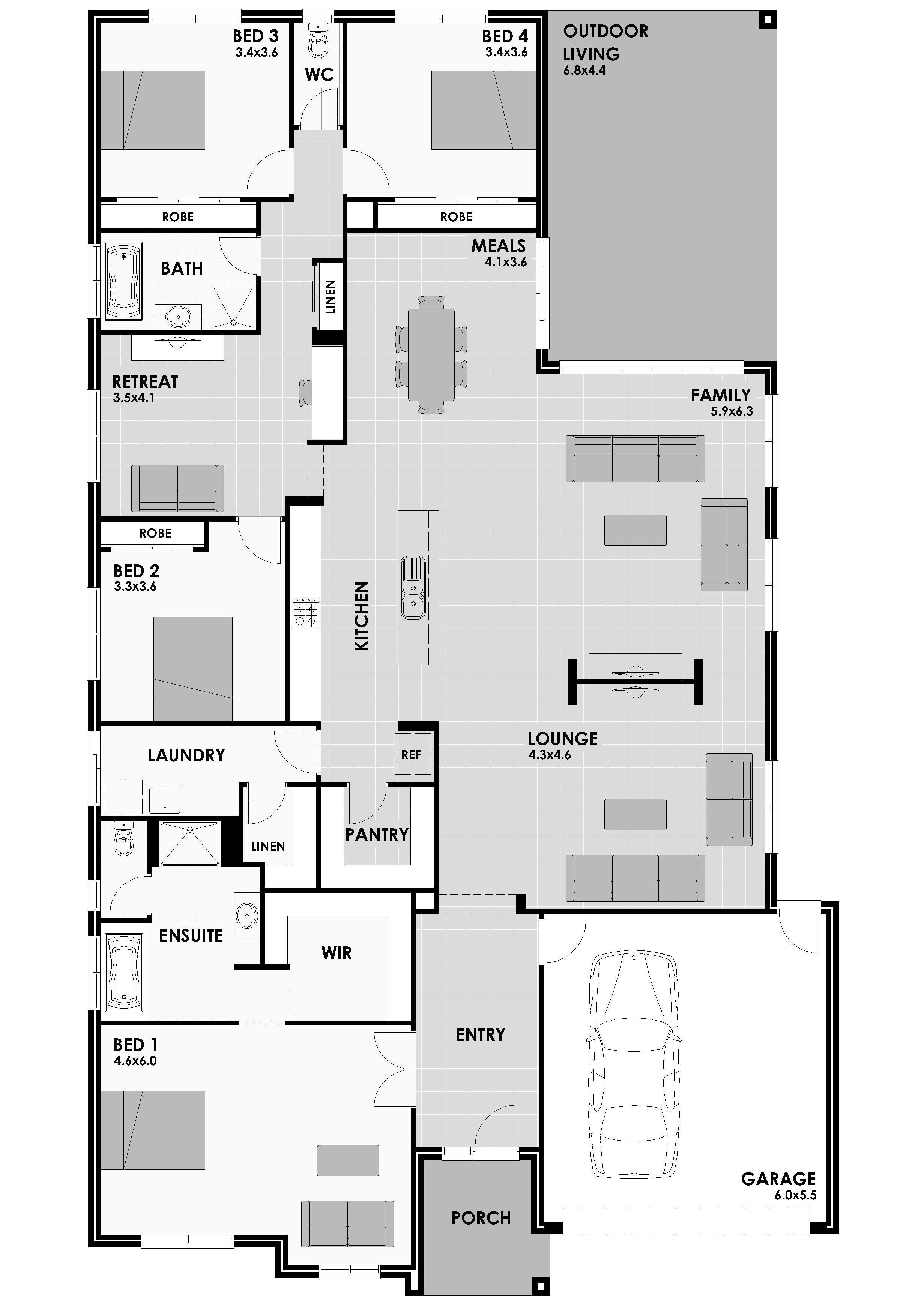Cavalier Homes Bondi Floor Plans House Design New Home Builders