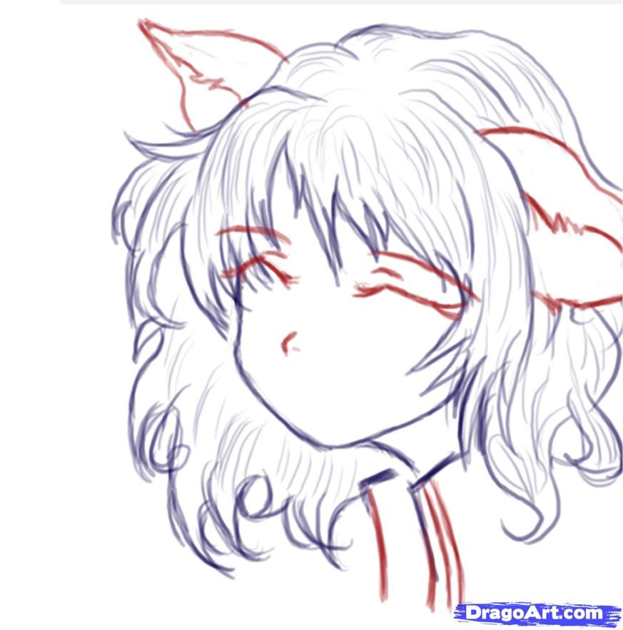 How to draw a cute anime face by maryann with images