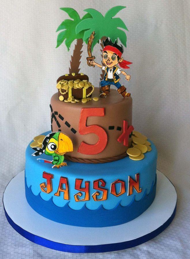 Charming jake and the neverland pirates cake decorating ...