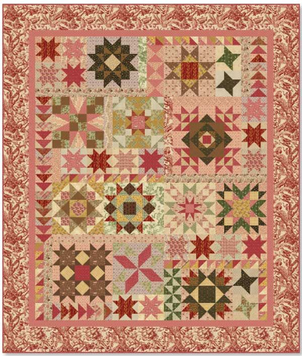 A Sparkling Sampler by Lynn Lister. Free download. | Quilting ... : sampler quilt blocks free - Adamdwight.com