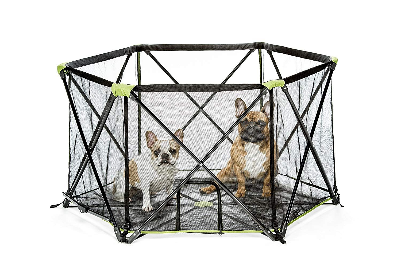Carlson Pet Products 2850 8-Panel Folding Portable Pet ...