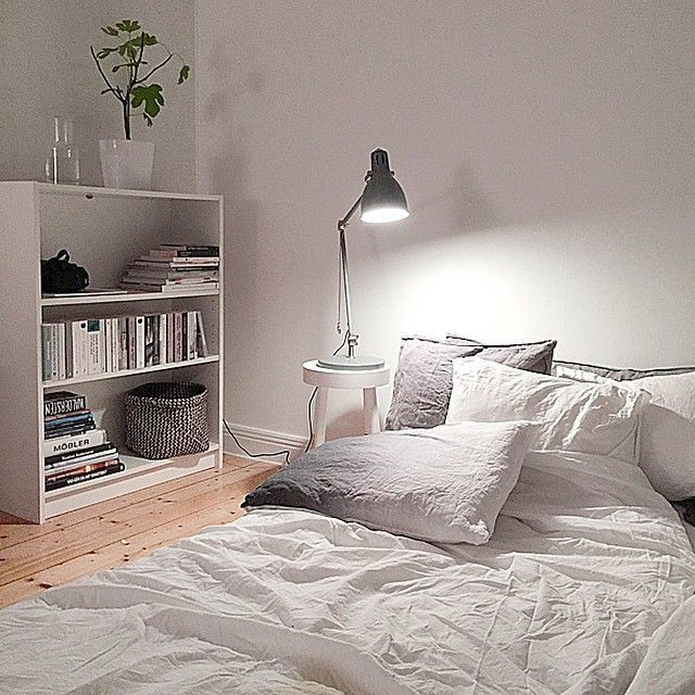 A nordic inspired bedroom. Soft and minimal. More