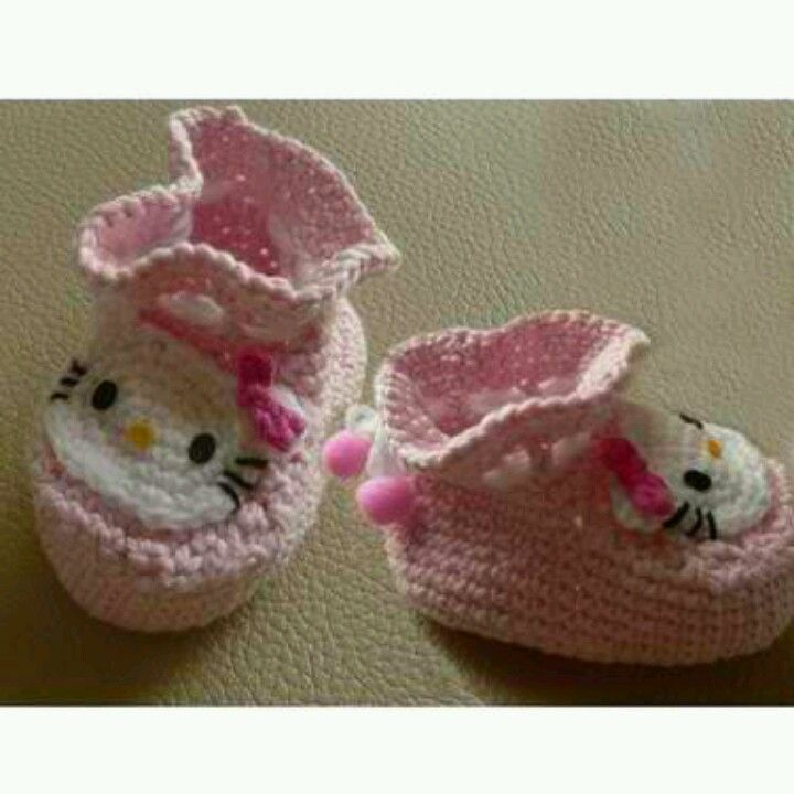 Hello kitty baby ! | Hk lovers | Pinterest | Tejido y Zapatos