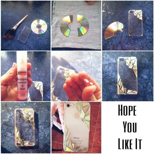 Mosiac Cd Phone Case .