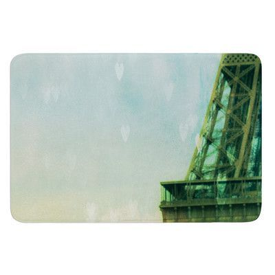 KESS InHouse Paris Dreams by Ann Barnes Bath Mat