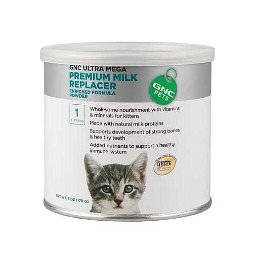 Gnc Pets Ultra Mega Premium Milk Replacer For Kittens 6 Ozs You