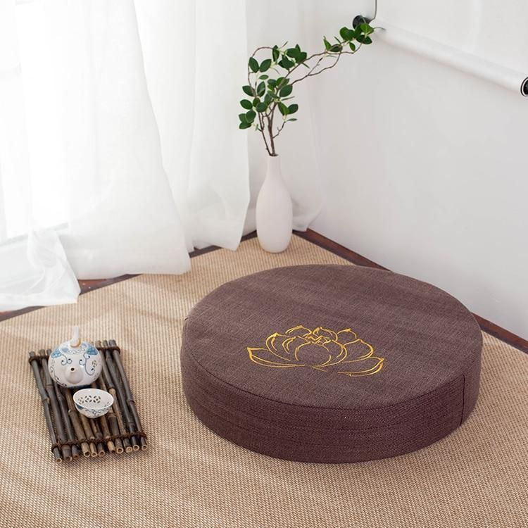 Meditation cushion with images meditation cushion