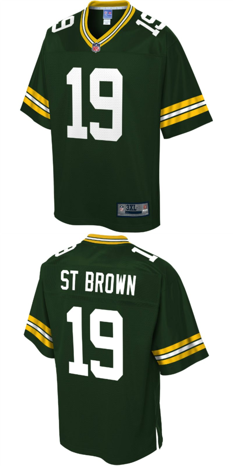 best service 4cbcd 50d07 UP TO 70% OFF. Equanimeous St. Brown Green Bay Packers NFL ...