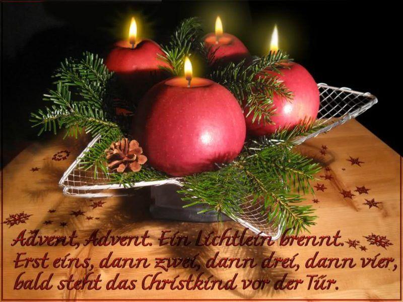Adventssprüche Und Gedichte Vorweihnachtszeit Advent