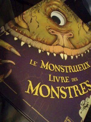 Le Monstrueux Livre Des Monstres : monstrueux, livre, monstres, Épinglé, Littérature, (prioritairement, Jeunesse, Avis)