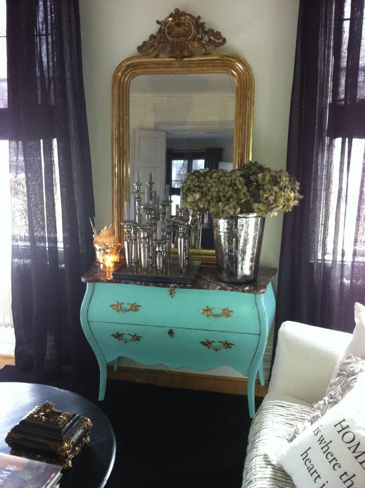 Rokoko - Kommode und Spiegel | interior | Pinterest | Small rooms ...