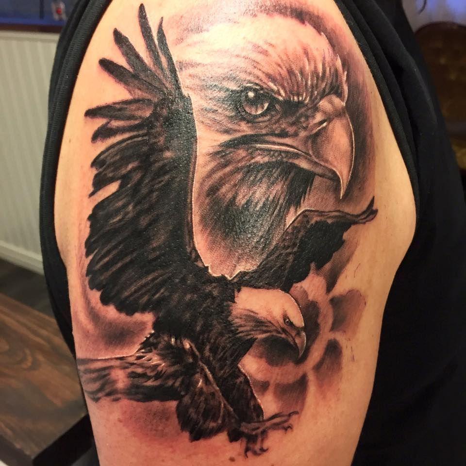 Eagle Tattoo Tattoospedia Eagle Tattoos Eagle Tattoo Eagle