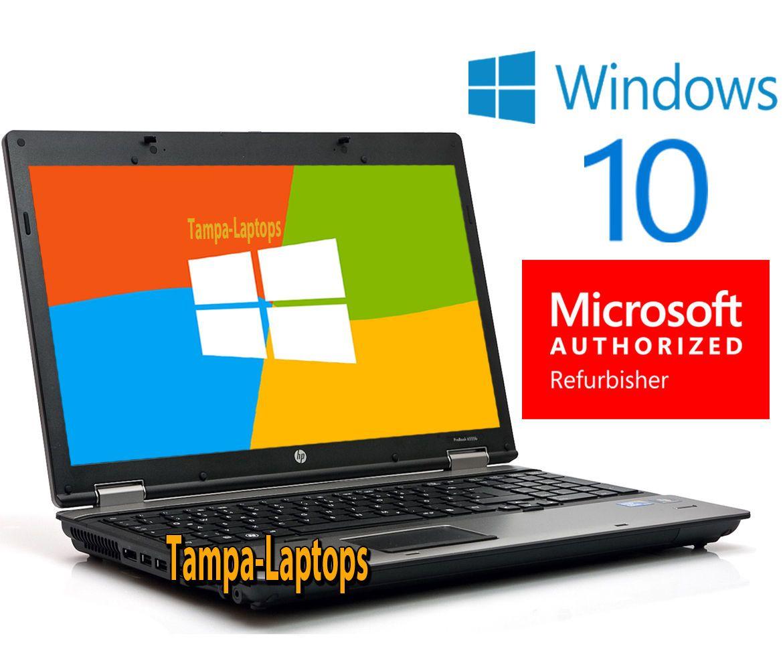 Details about HP PROBOOK LAPTOP COMPUTER 2 CORE 2 1GHz 4GB
