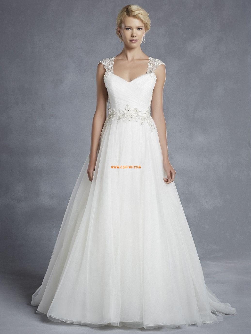 Beading Glidelås Naturlig Brudekjoler 2015