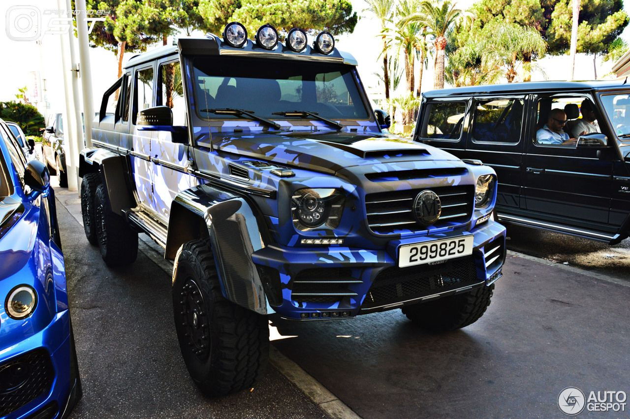 Mercedes Benz Mansory Gronos G 63 Amg 6x6 4 With Images