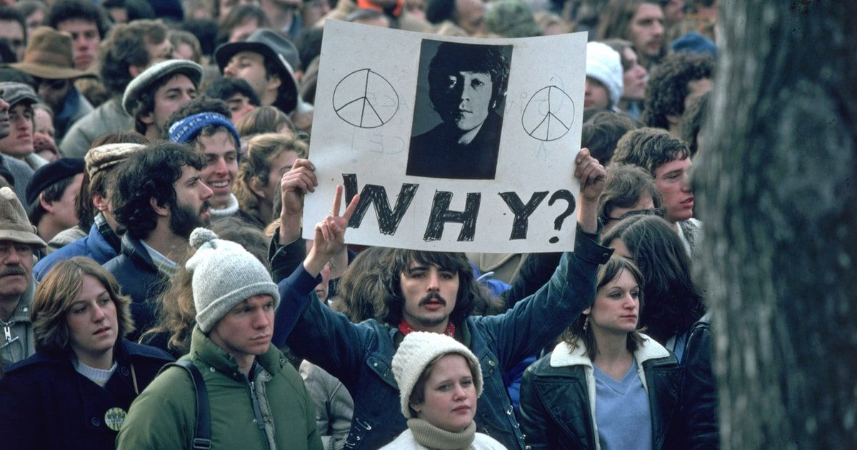 While He Imagined Peace Was Murdered In Cold Blood The Death Of John Lennon One Those Flashbulb Memories You Never Forget