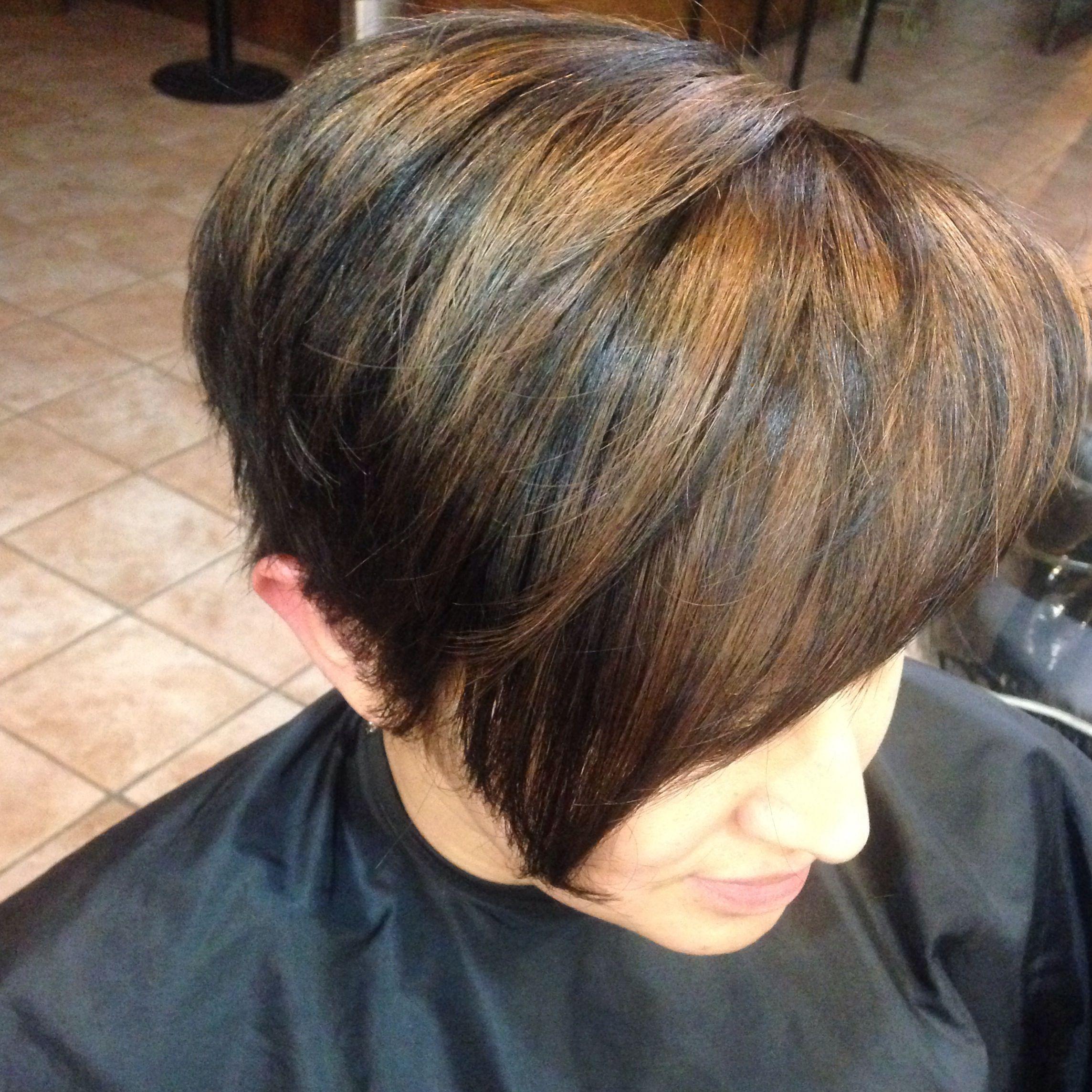 Pin by Ilda Sampaio on hair  Blonde highlights on dark hair