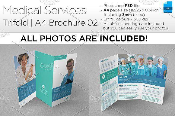 medical a4 trifold brochure 02 a4 brochure templates psd a4 size brochure templates psd free download business brochure templates psd free download creative - A4 Brochure Template Psd Free Download