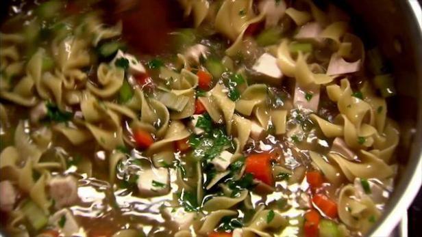 Chicken Noodle Soup Recipe Barefoot Contessa Recipes Pinterest