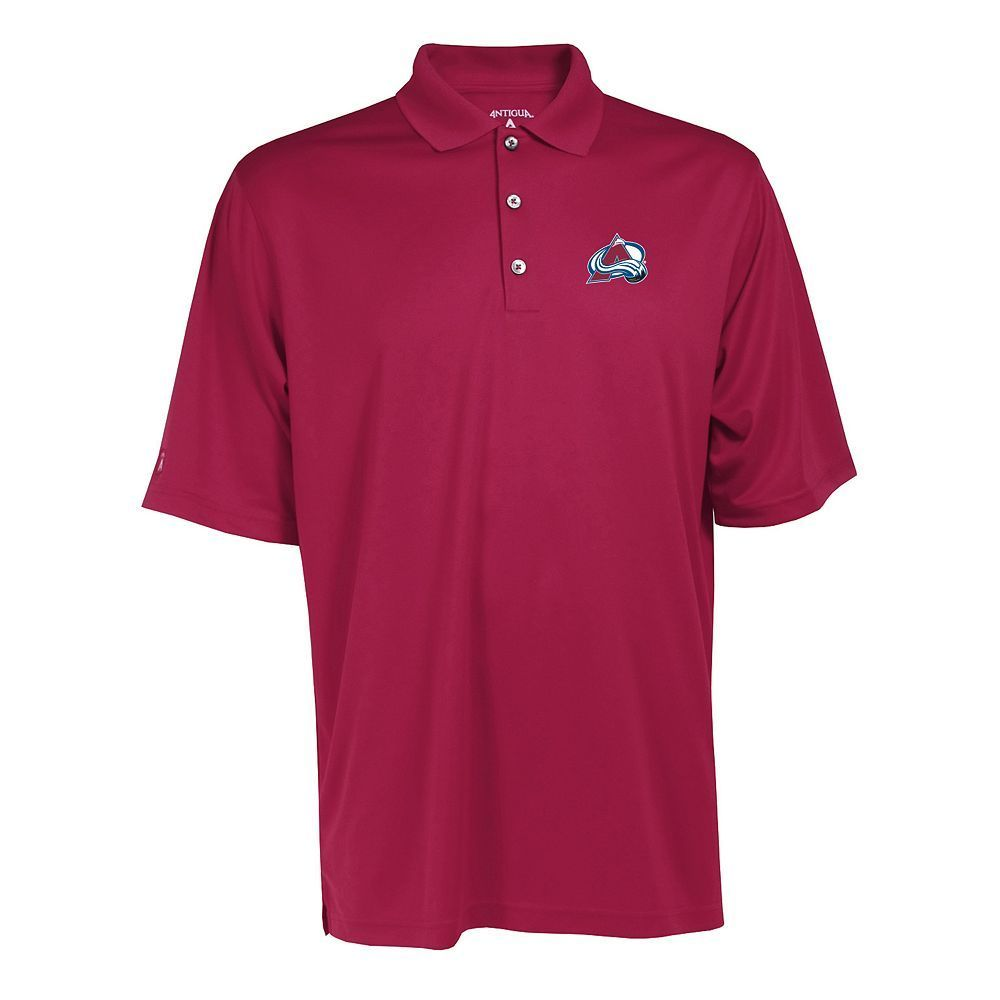 Men's Colorado Avalanche Exceed Performance Polo, Size: Large, Red