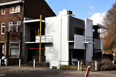 Mi Moleskine Arquitectónico: GERRIT RIETVELD: CASA SCHRÖDER