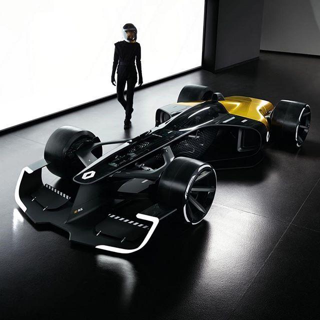 Renault Unveil Radical 2027 F1 Concept Car: Renault R.S. 2027 Vision