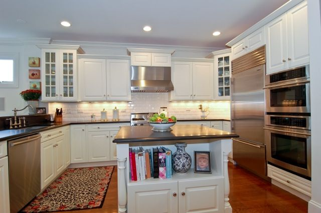 Hand Painted Kitchen Cabinets This Kitchen Previously Had