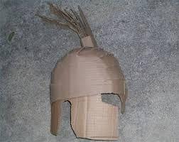 Greek Helmet Mask Template