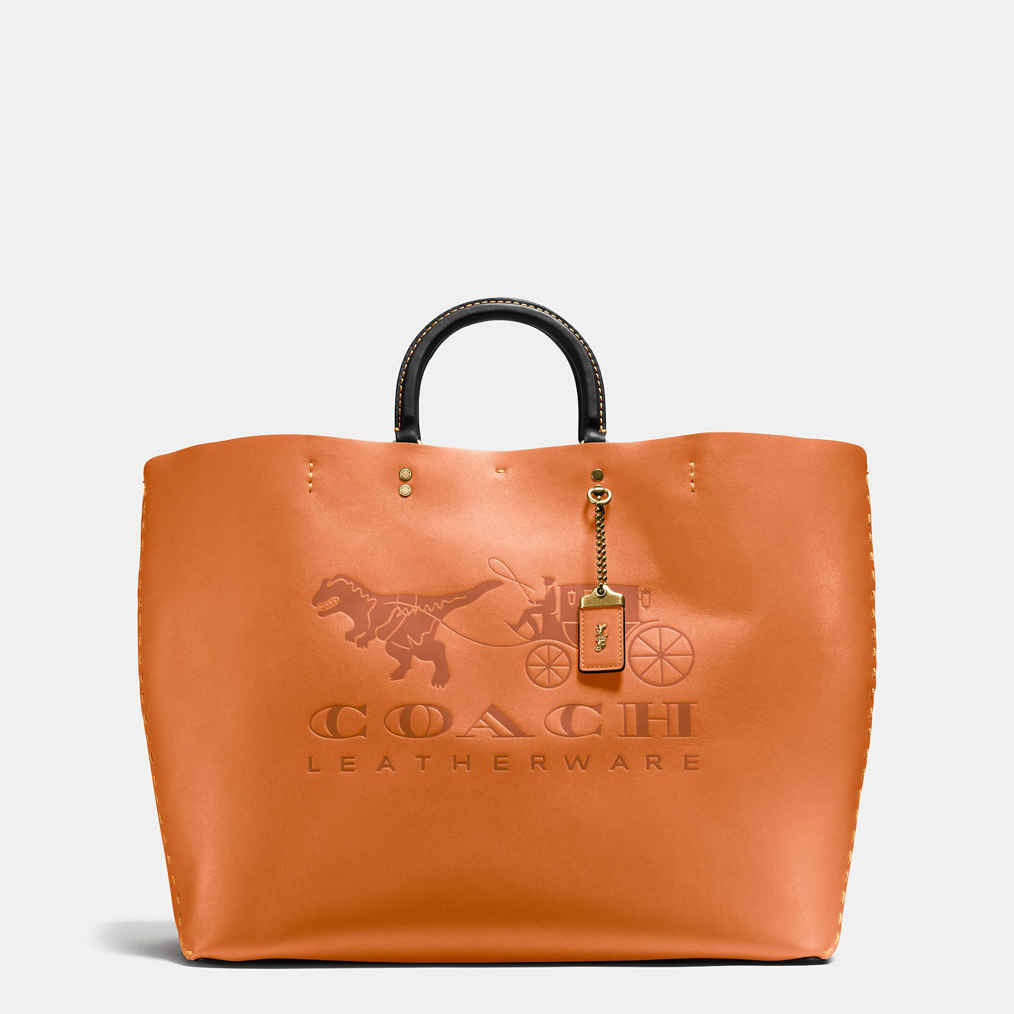 0a620f3fe406 COACH COACH ROGUE TOTE 38 IN VERY NATURAL GLOVETANNED LEATHER.  coach  bags   shoulder bags  hand bags  leather  tote