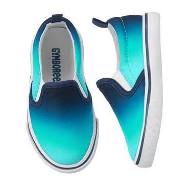 boys blue slip on shoes