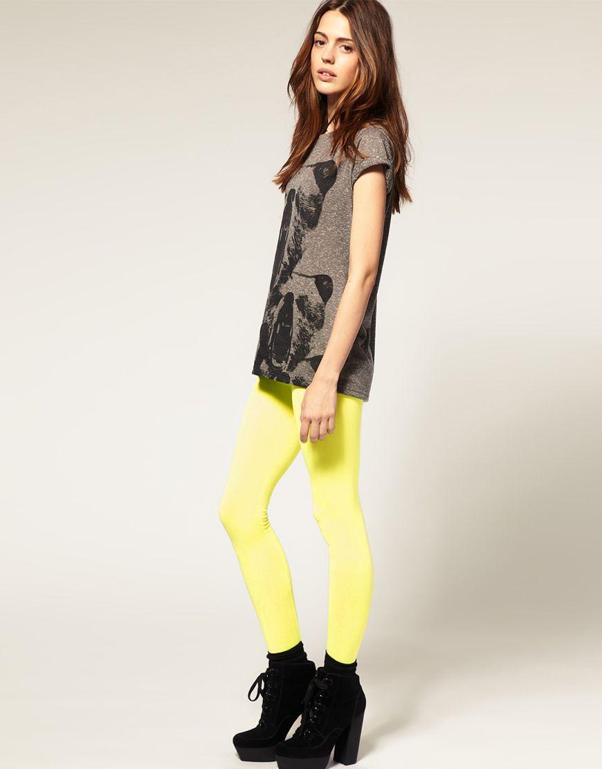 Pin by amanda hinton on my style neon leggings fashion