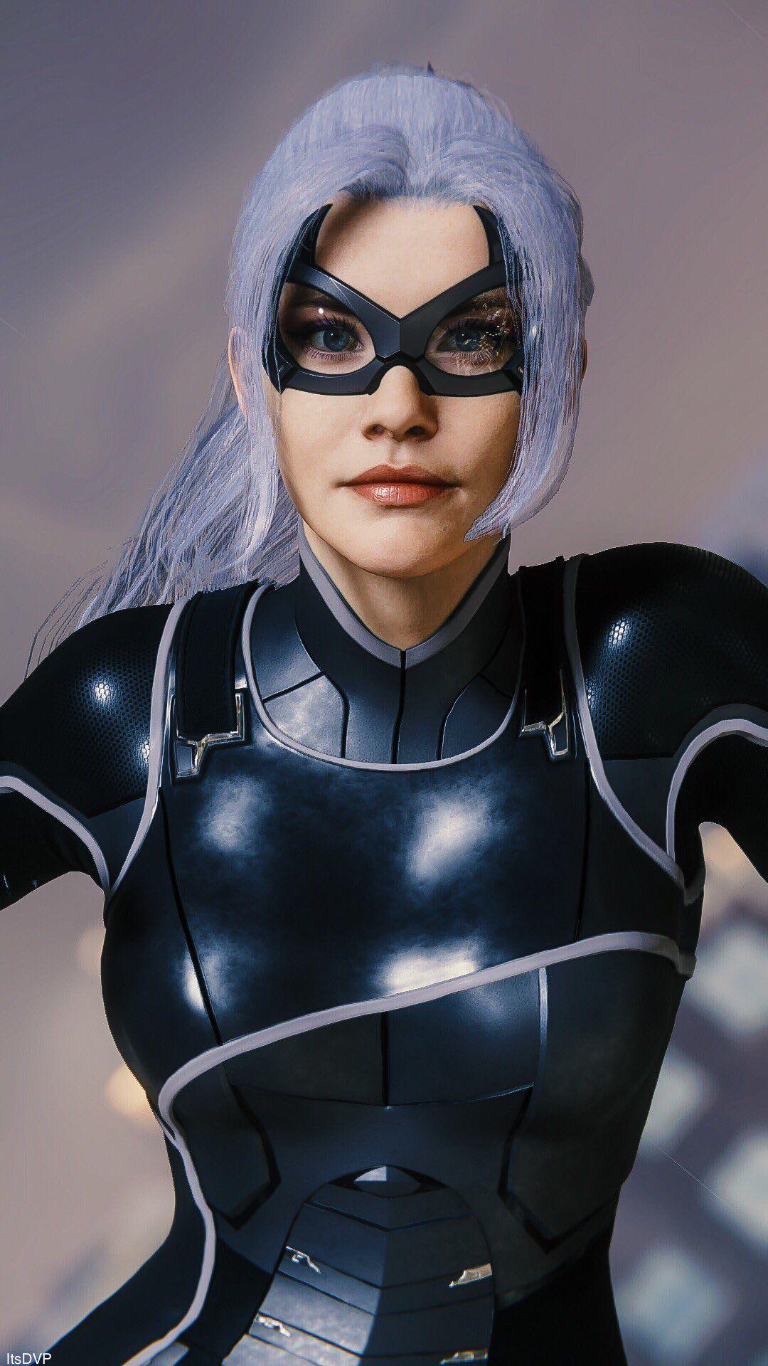 Black Cat (Felicia Hardy) falling | MARVEL's Spider-Man- DLC