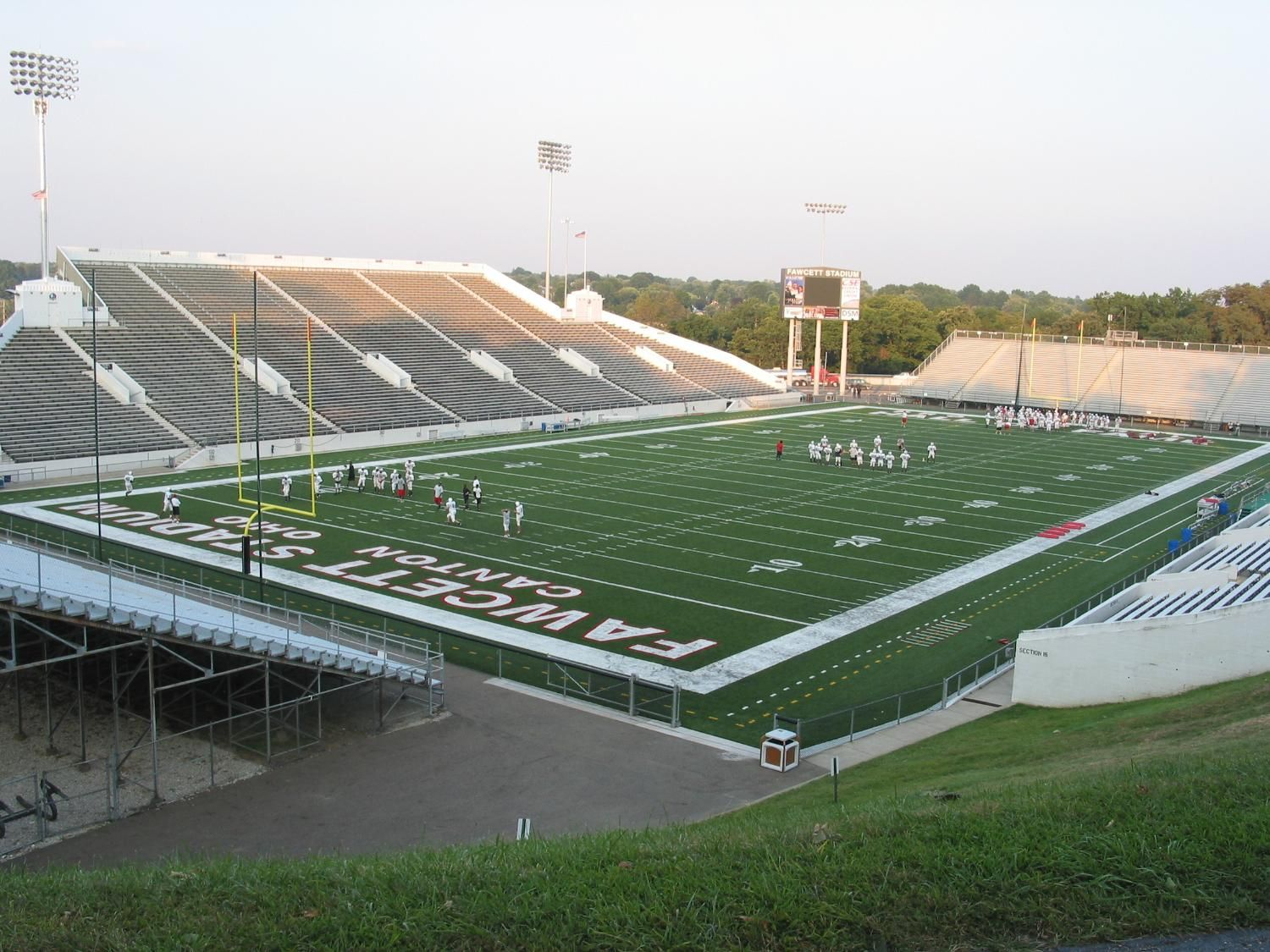 Canton Mckinley Football Stadium And Facilities Football Stadiums Stadium Hs Football