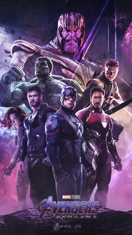Avengers Endgame Poster Thanos Vs Heroes Iphone Wallpaper Avengers Poster Marvel Avengers Funny Marvel Posters