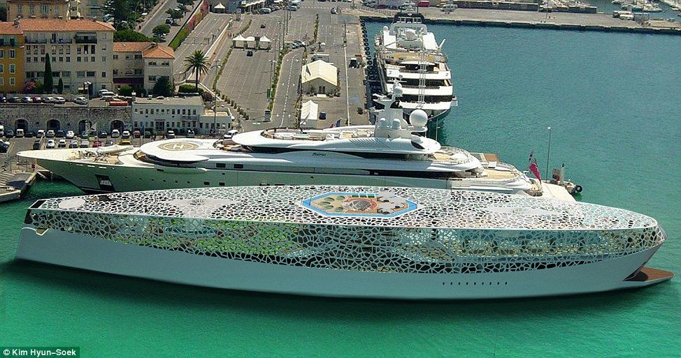 The Most Beautiful Boat In The World Mega Yacht Which Comes