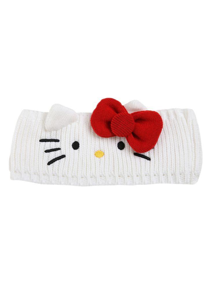 hello kitty knit headband | Hello Kitty Knit Headband - If I didn\'t ...