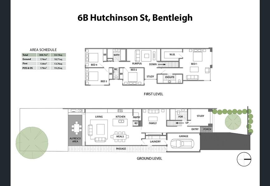 hutchinson street bentleigh vic property details building plans townhouse also house rh ar pinterest