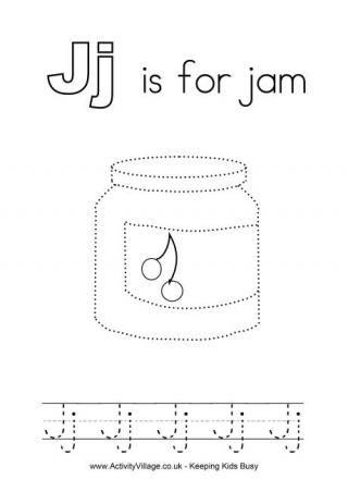 Tracing Alphabet J - UK | Letters | Alphabet worksheets ...