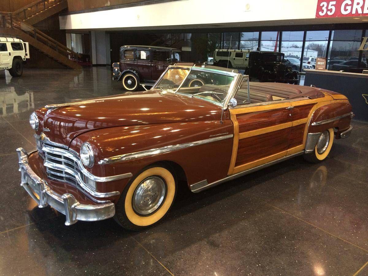1949 Chrysler Town & Country Convertible | carros | Pinterest ...