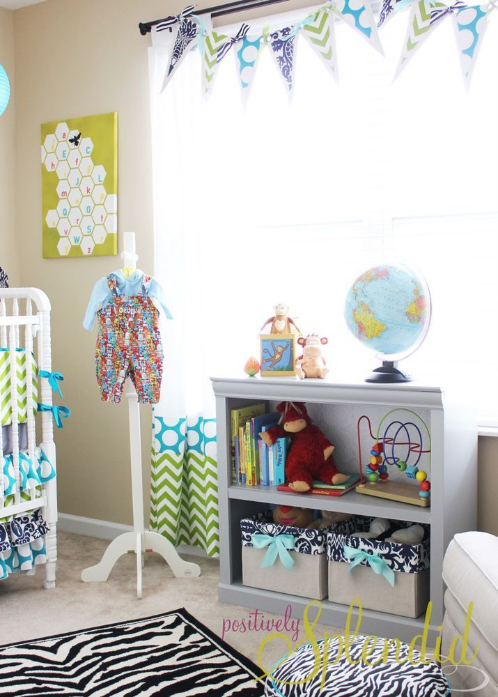 Cool Baby Boy Nursery Ideas: Budget Home Decorating, Baby Decor