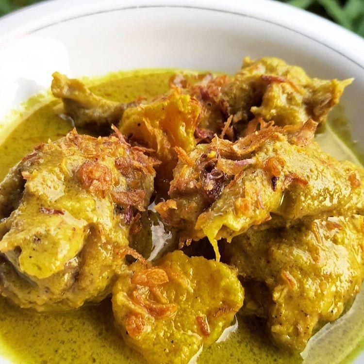 Resep Opor Ayam Lebaran Resep Makanan Pedas Resep Masakan