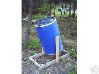 Compost barrel I want hubby to make for me.
