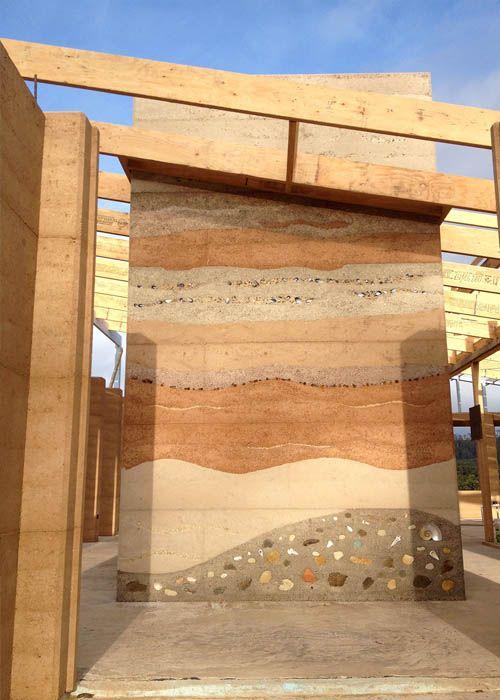 Rammed Earth Walls Google 검색 Rammed Earth Wall