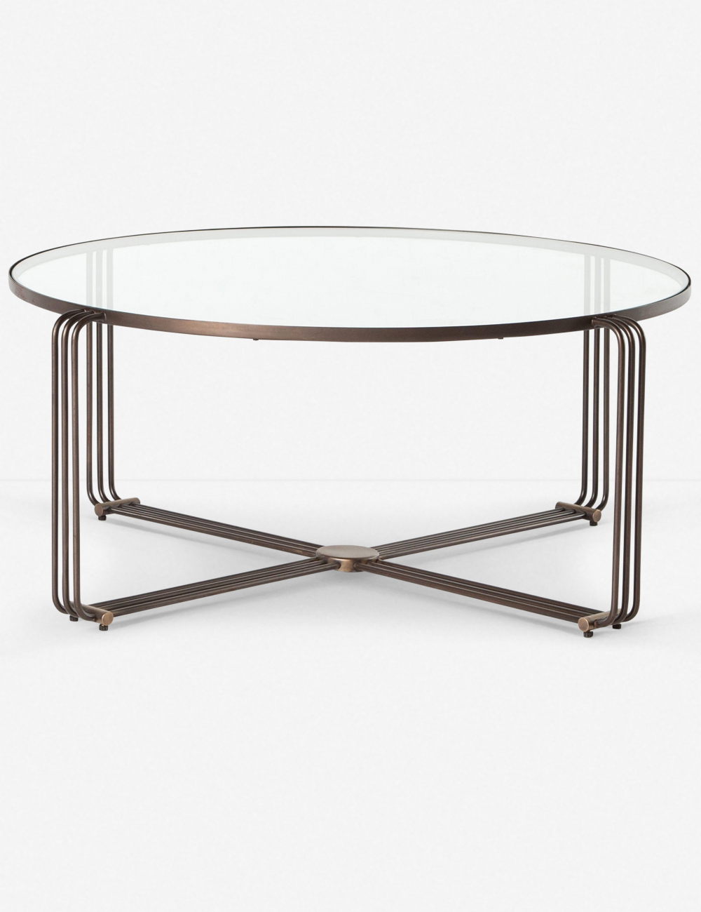 This Glass Top Coffee Table Blends Modern Aesthetics With Art Deco Style Thanks To The Brass And Iron B Coffee Table Coffee Table Wood Living Room Coffee Table [ 1300 x 1000 Pixel ]