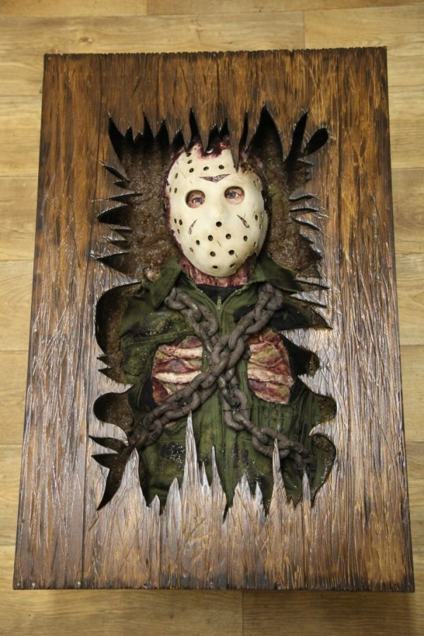 Magnificent Friday The 13Th Coffee Table In 2019 Movie Crafts Movie Machost Co Dining Chair Design Ideas Machostcouk